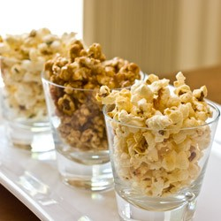 Homemade Kettle Caramel and Thyme Popcorns