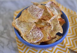 Homemade Taro Chips Recipe