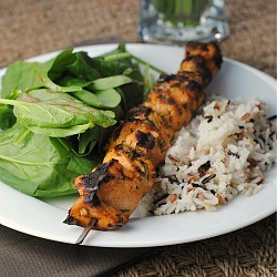 Honey-Lime Chicken Skewers Recipe