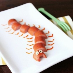 Hot Dog Caterpillar