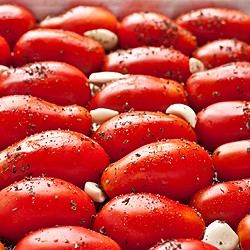 How to Roast Homegrown San Marzano Tomatoes