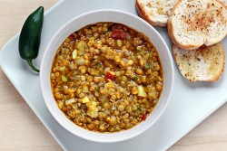 Lentil Soup with Indian Spices