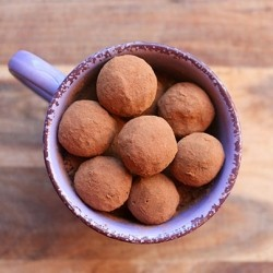 Mexican Hot Chocolate Truffles