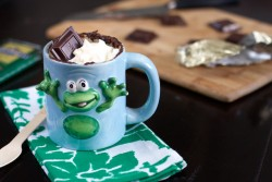 Mint Chocolate Chip Mug Cake