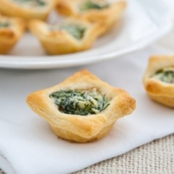 Mushroom and Spinach Tartlets