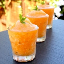 Orange Melon Sorbet Recipe