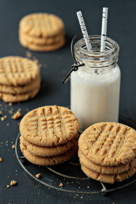 Peanut Butter Honey Cookies Recipe