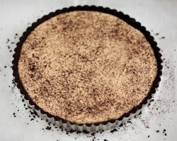 Peanut Butter Tart with Chocolate Wafer Crust Recipe