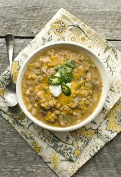Pork White Bean Chili Recipe