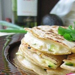 Quesadilla with Summer Vegetables