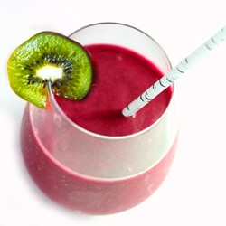 Rasberry Kiwi Fruit Smoothie Recipe