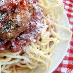 Real Spaghetti and Meatballs