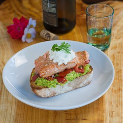 Salmon Avocado Superfood Sandwich Recipe