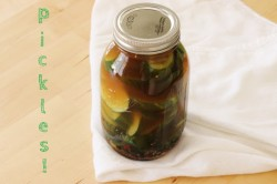 Thirty Minute Pickles Recipe