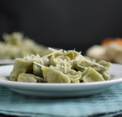 Three Cheese Spinach Tortellini Recipe