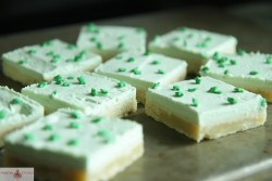 Vanilla Sugar Cookie Bars