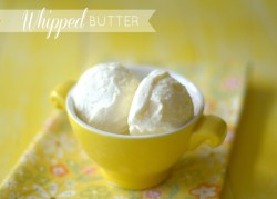 Whipped Butter Recipe