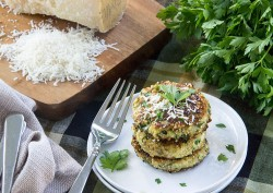 Zucchini Quinoa Fritters with Parmesan Recipe