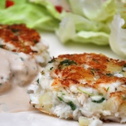 Asian Inspired Fish Cakes