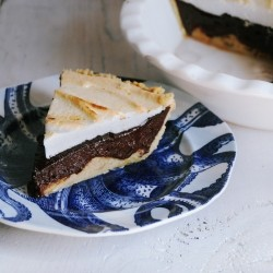 Banana Chocolate Meringue Pie Recipe