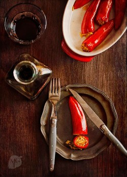 Basmati Stuffed Chili Peppers Recipe