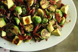 Brussels Sprouts with Red Onion Recipe