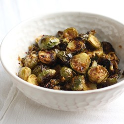 Brussels Sprouts with Spicy Lemongrass Sauce Recipe
