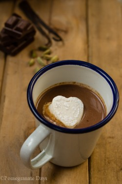 Cardamom Hot Chocolate Marshmallow Recipe
