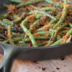 Charred Spiced Green Beans Recipe