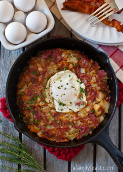 Corned Beef Breakfast Hash Recipe