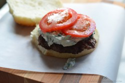 Creamed Spinach Burger Recipe