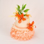 Flamboyant Mayflower Petal Cake Recipe