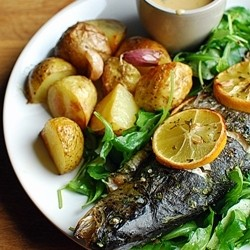 Fried Trout in Soy Wine Sauce Recipe