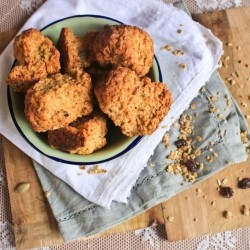 Granola Rusks South African Tea Cakes