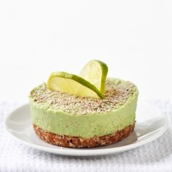 Green Smoothie Peppermint Cheesecake Recipe