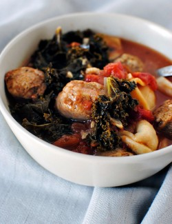 Greens and Sausage Soup