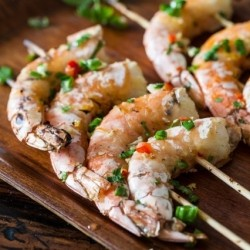 Grilled Chinese Style Shrimp Recipe