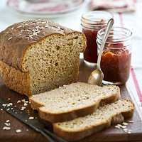 Homemade Whole Wheat Oatmeal Bread