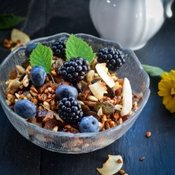 Honey Buckwheat Muesli Recipe