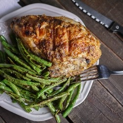 Maple Mustard Horseradish Grilled Chicken Recipe