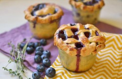 Mini Blueberry and Thyme Pie Recipe