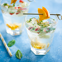 Minted Tropical Sangria