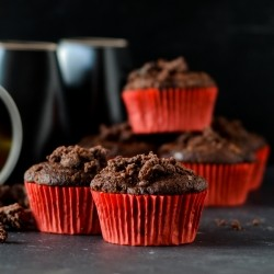Pear Chocolate Muffins Recipe
