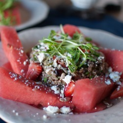 Quinoa Watermelon Salad Recipe