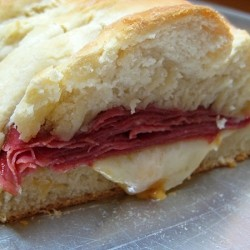 Reuben Sandwich with Corned Beef