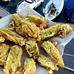 Roam Fried Zucchini Blossoms Recipe