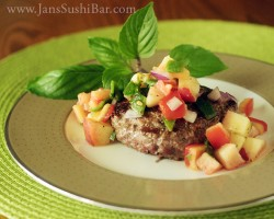 Roasted Poblano and Peach Salsa Recipe