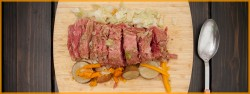 Slow Cooked Corned Beef Brisket Leftover Sandwiches Recipe