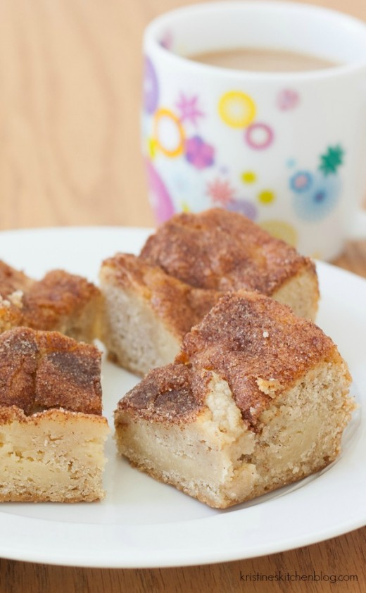Snickerdoodles Butter Cake Squares Recipe