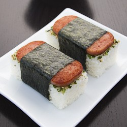 Spam Musubi with Nori Furikake